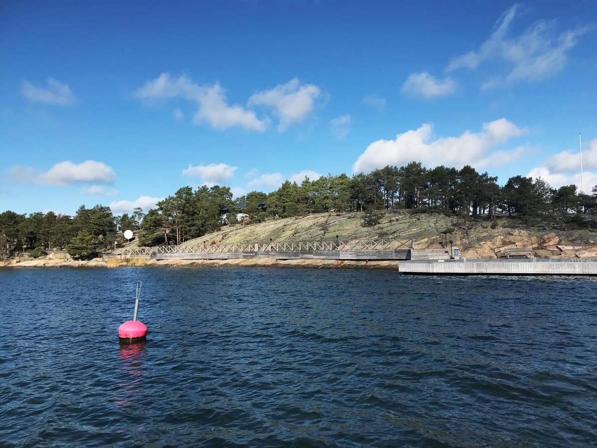 Säkkiluoto Turun saaristossa.
