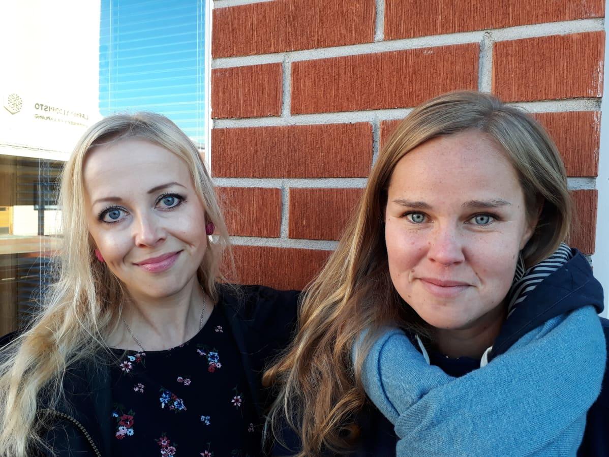 Marja Pulju ja Mari Raappana