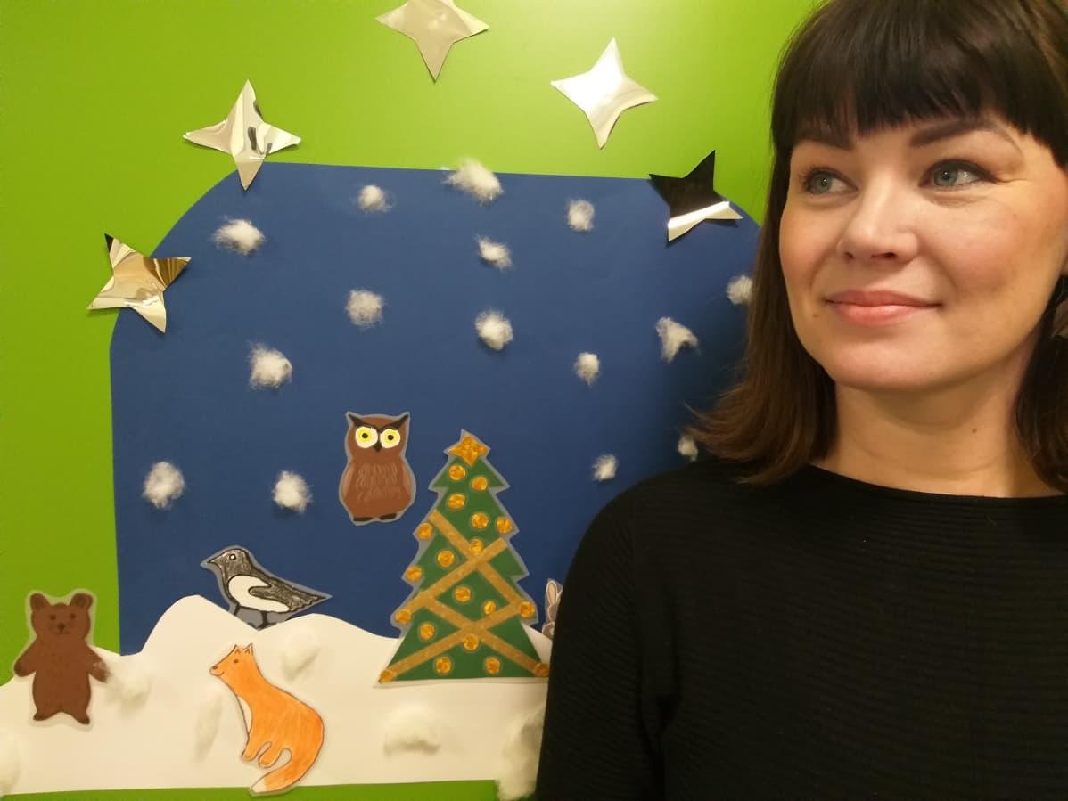 Lastenhoitaja Kirsi-Mari Mustonen