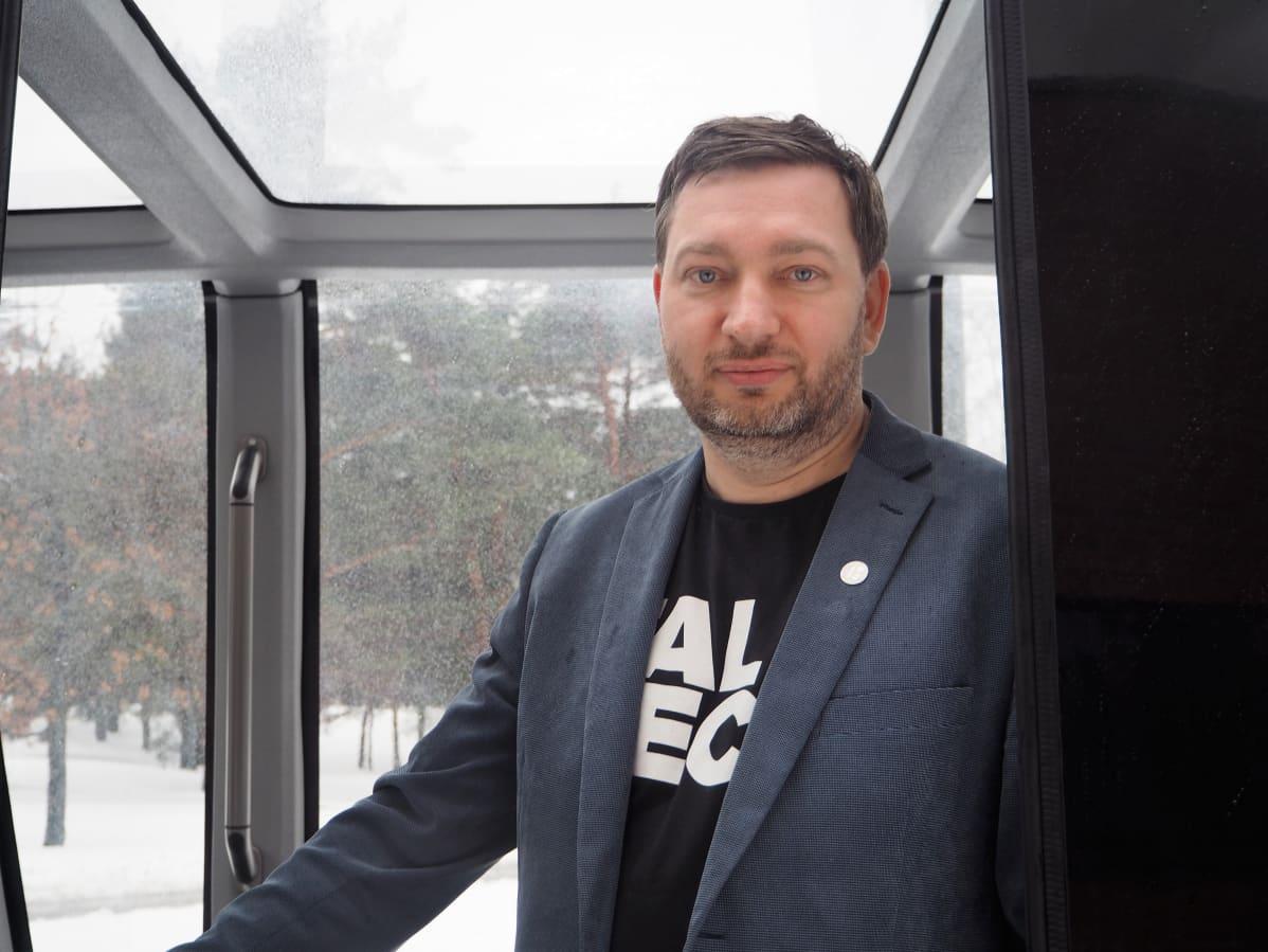 Iseauto-projektia vetää Tallinnan Teknillisen yliopiston tutkija Raivo Sell.