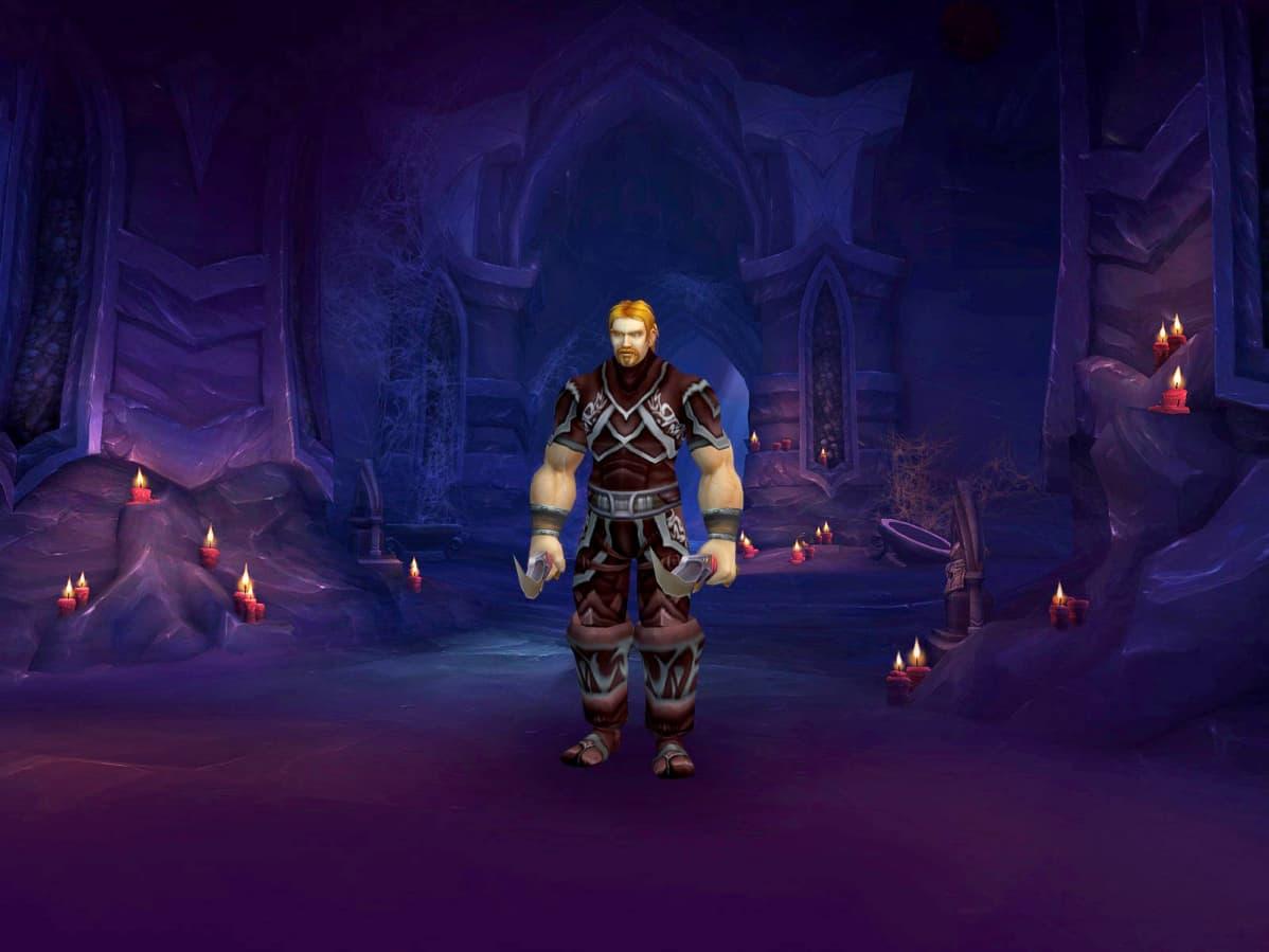 Matsin tärkein pelihahmo World of Warcraftissa oli lordi Ibelin Redmoore.