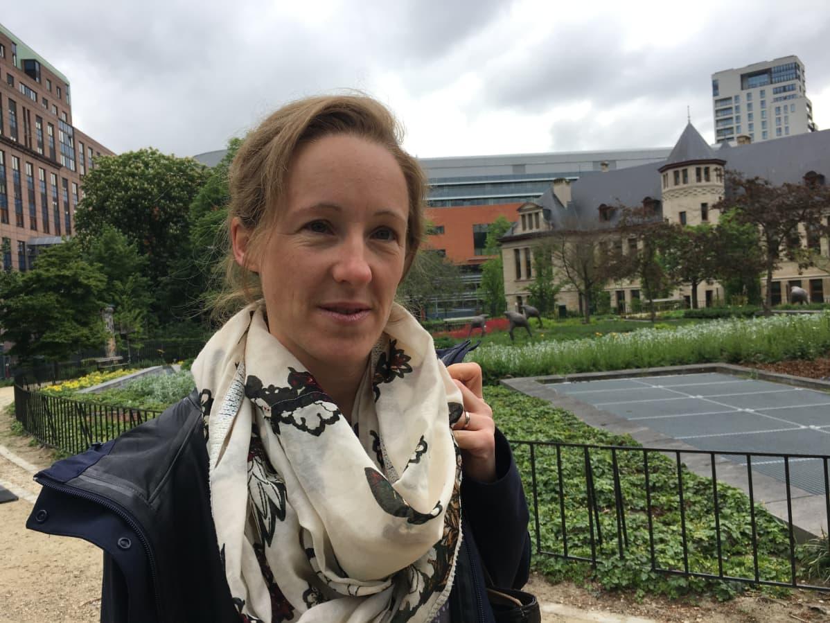 Susanne Tannert työskentelee saksalaisessa Ich bin hier -kansalaisjärjestössä.