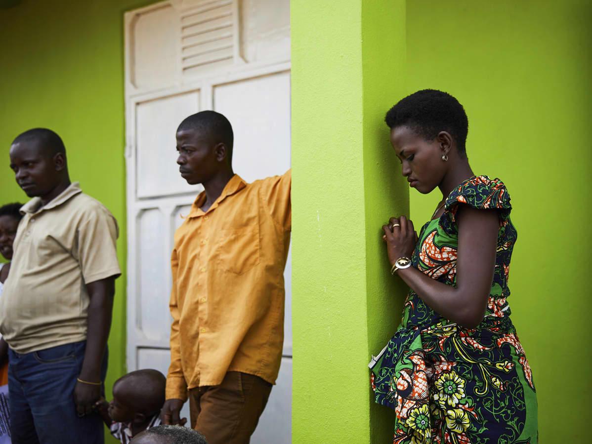 YK:n poliisivoimat (UNPOL) jakoivat ebola-tietoutta Pohjois-Kivussa Kongon demokraattisessa tasavallassa.