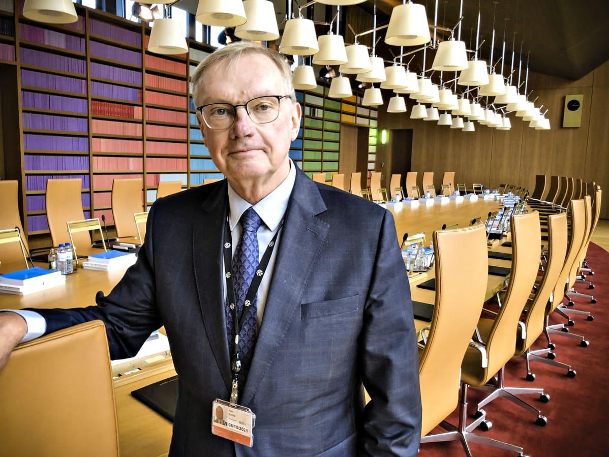 Tuomari Allan Rosas, Euroopan unionion tuomioistuin (EUT), Luxemburg