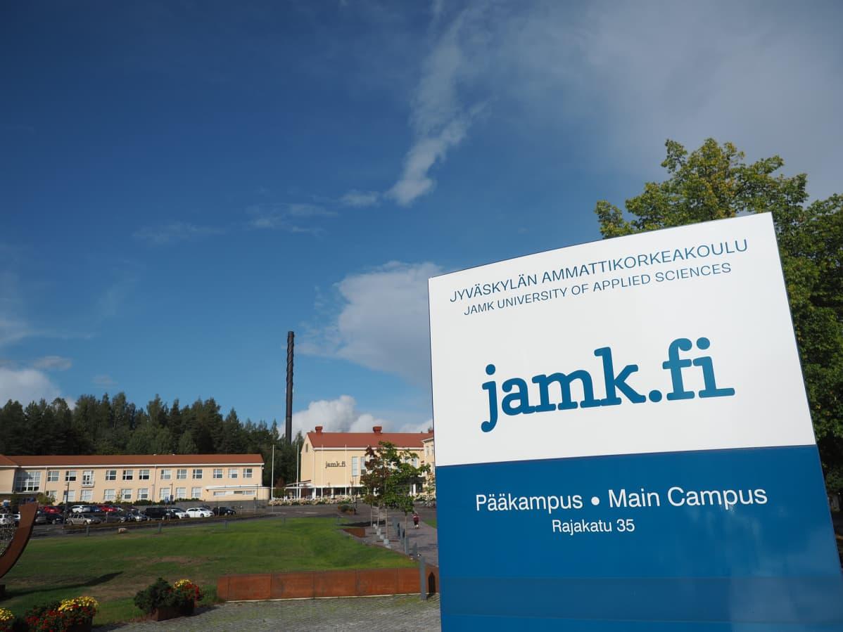 Jyväskylän ammattikorkeakoulun kampus.