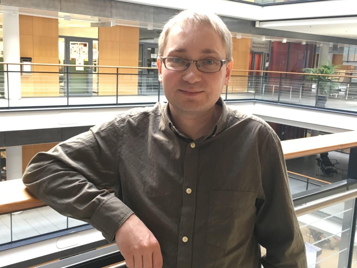 Tutkimusjohtaja Jonas Donner