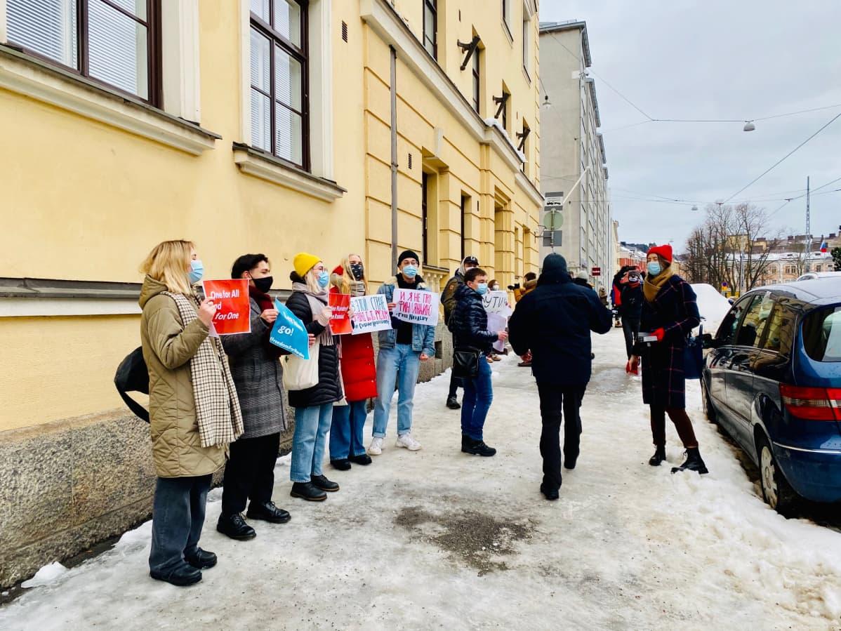 mielenosoitus navalny