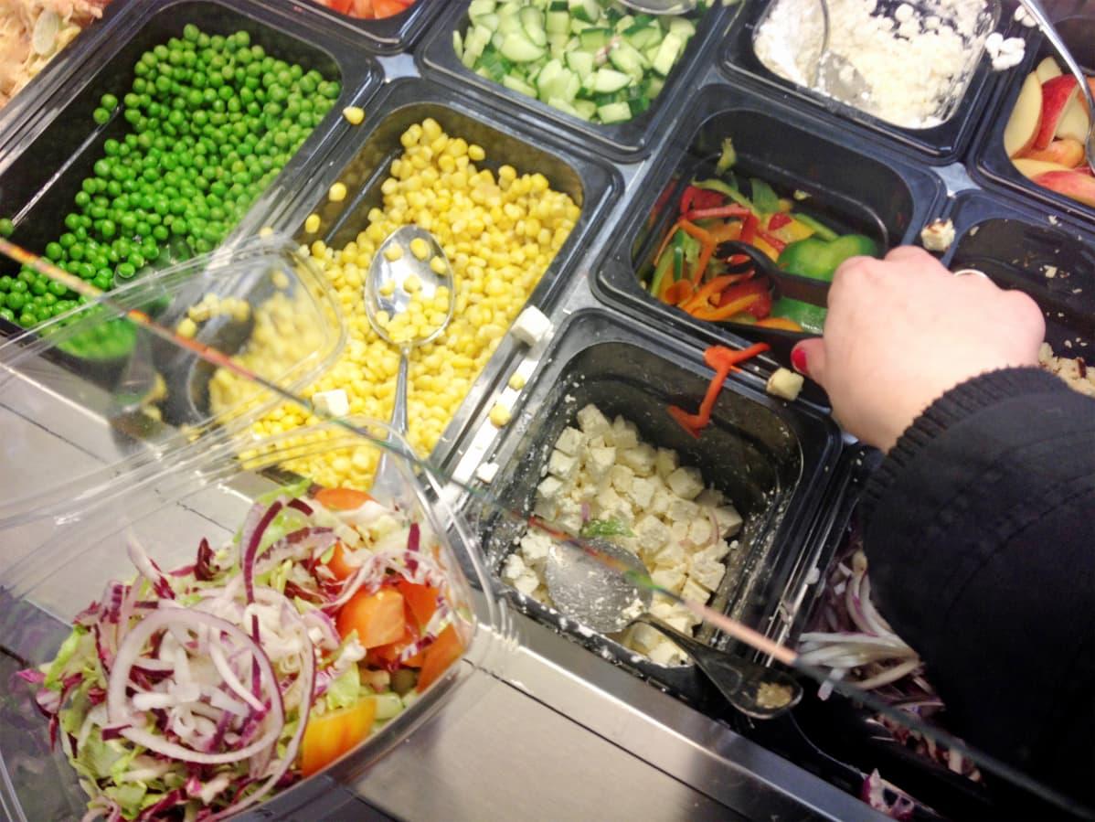 Kaupan salaattibuffet