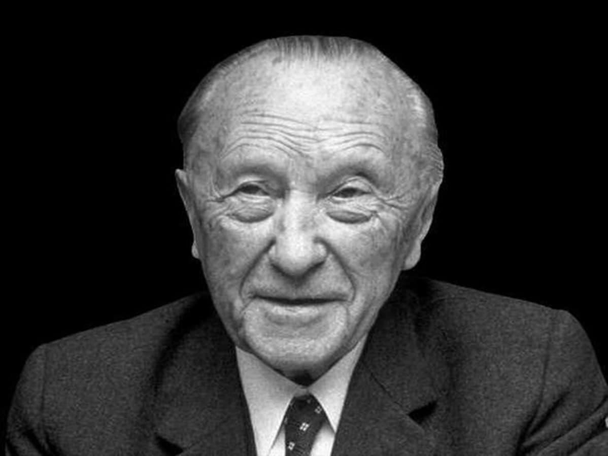 Liittokansleri Konrad Adenauer.