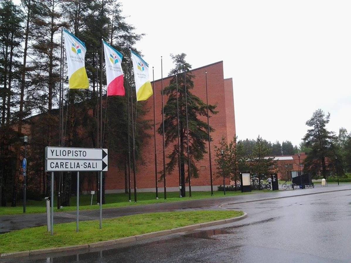 Itä-Suomen yliopiston Joensuun kampus.