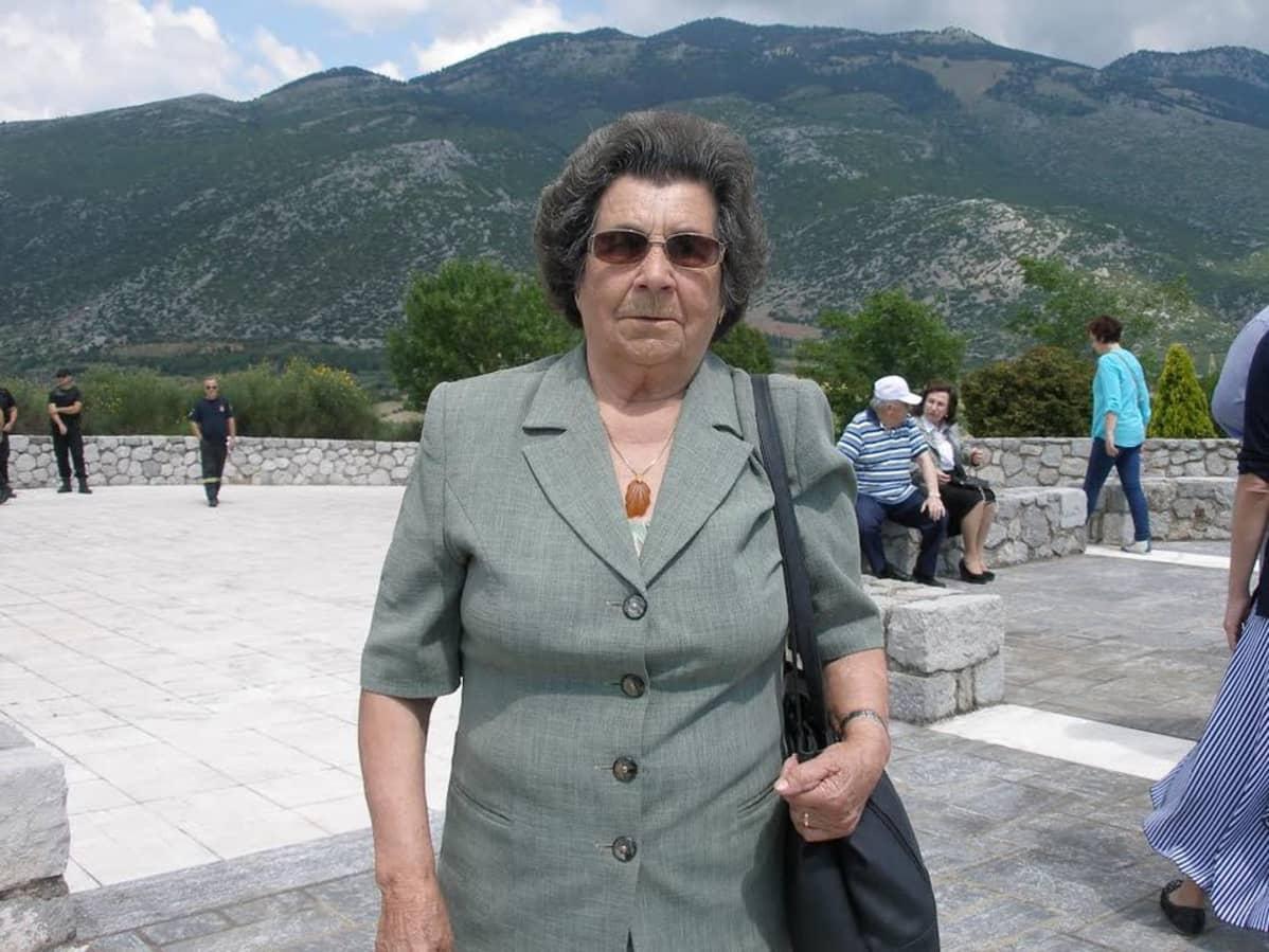 Efstathia Kremmou-Georgakou, 86-vuotias, Kreikka