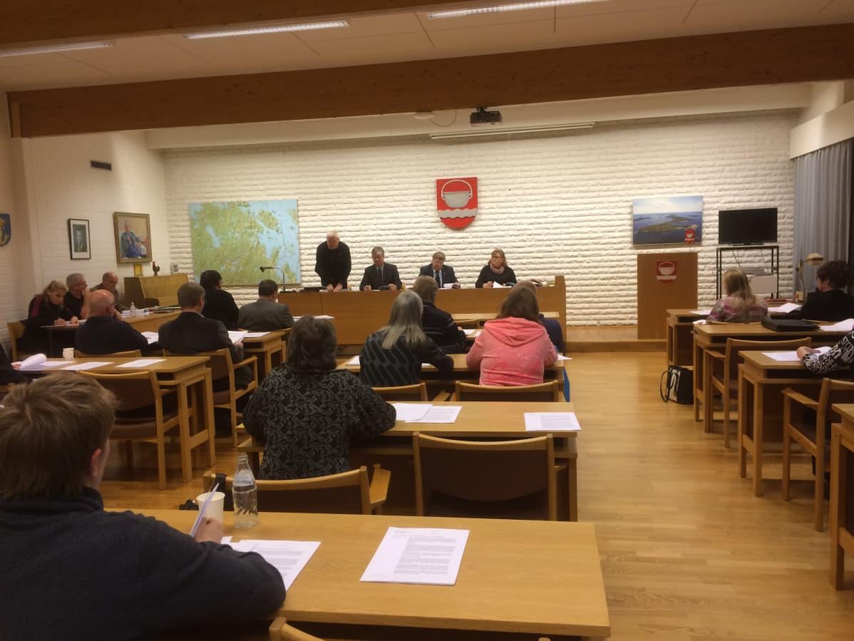 Padasjoen kunnavaltuuston kokous