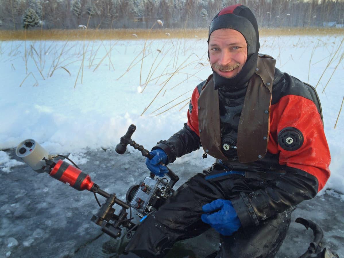 Teemu Lakka Vesijärvi sukellusvalokuvaaja