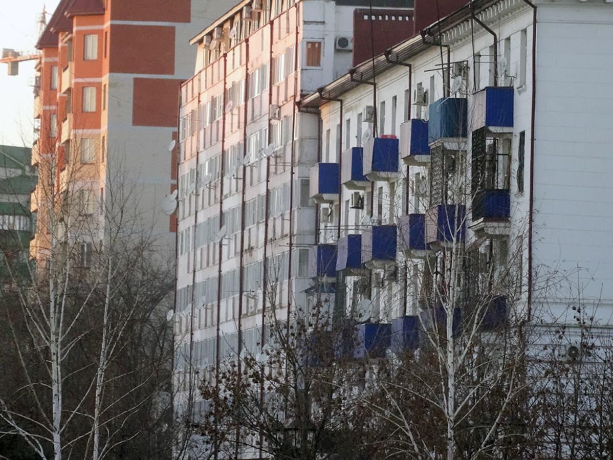Asuintaloja Groznyssa