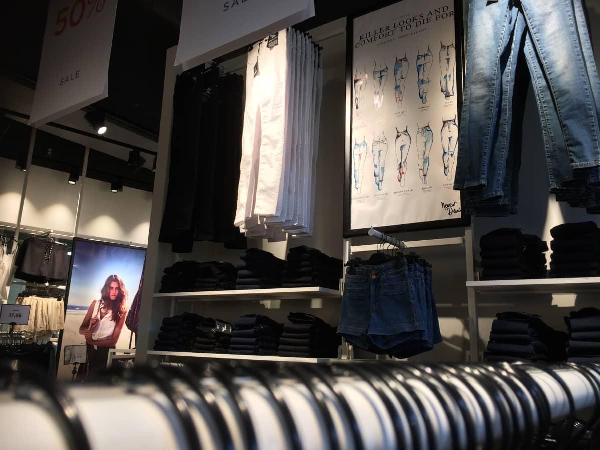 Vaatteiden verkkokauppa, josta löydät muodin lisäksi kodintuotteet
