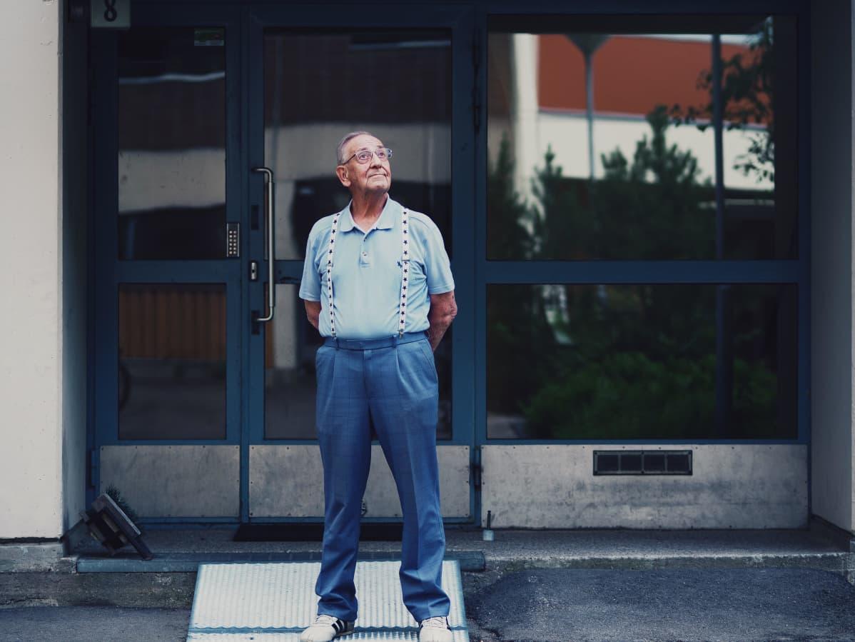 Per-Olof Ahokainen muutti Kiloon jo alle viisivuotiaana.