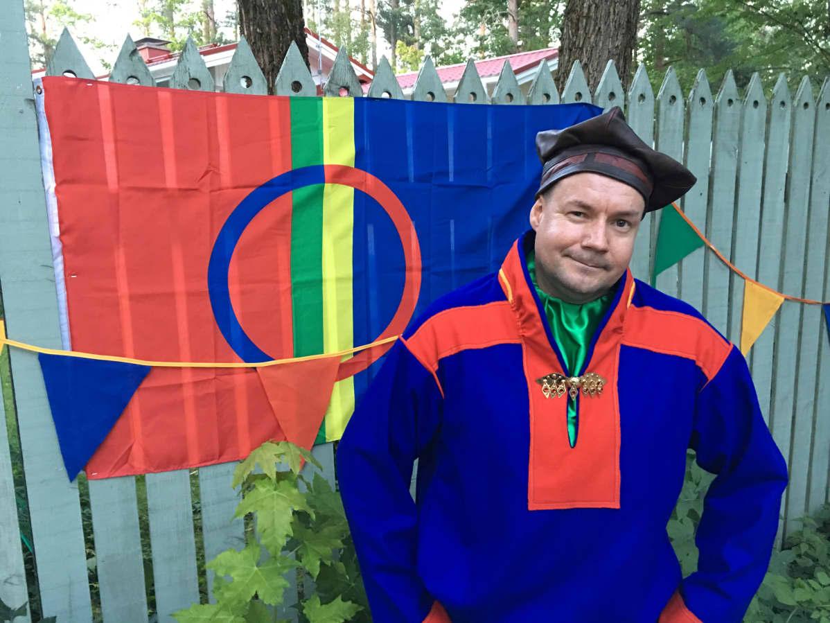 City-Sámiid Tapio Niittyvuopio Tuusula dáidagiid ijas 2016