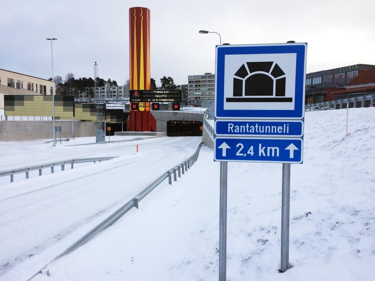 Tampereen Rantatunneli