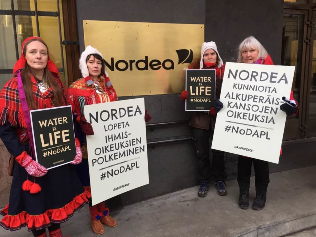 Feodoroff, Pieski ja Helander Nordea-báŋkku ovddabealde