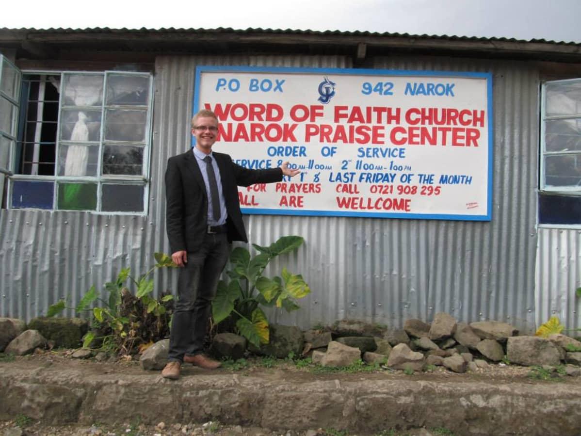 Patrick Tianen sai oppinsa kenialaisessa raamattukoulussa