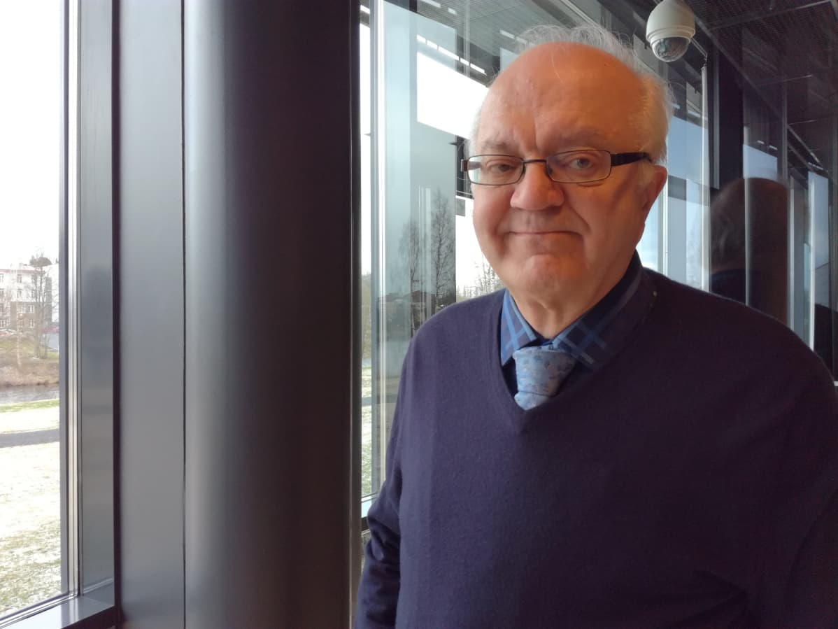 Jari Sinkkonen vieraili toukokuussa Seinäjoella.