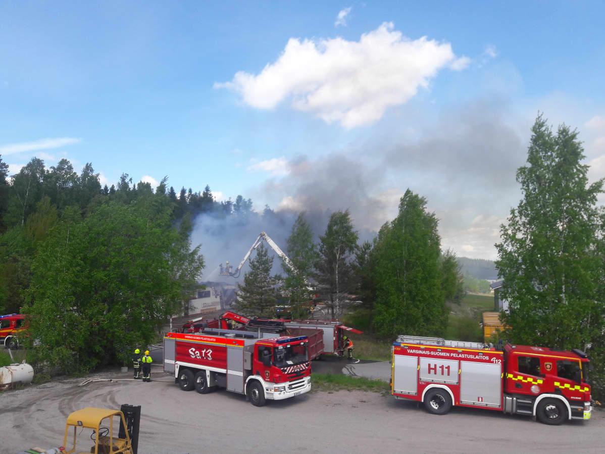 Tulipalo Salo Halikko Piisitie