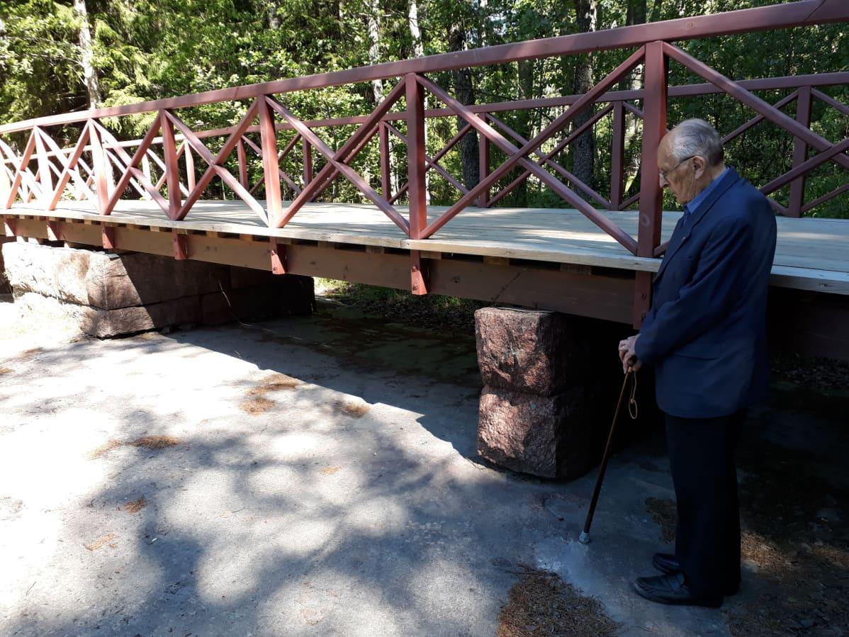 Ragnar Backström ja silta