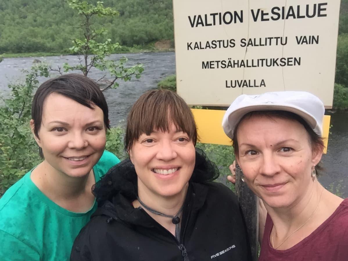 Kati Eriksen, Anne Nuorgam, Heidi Eriksen