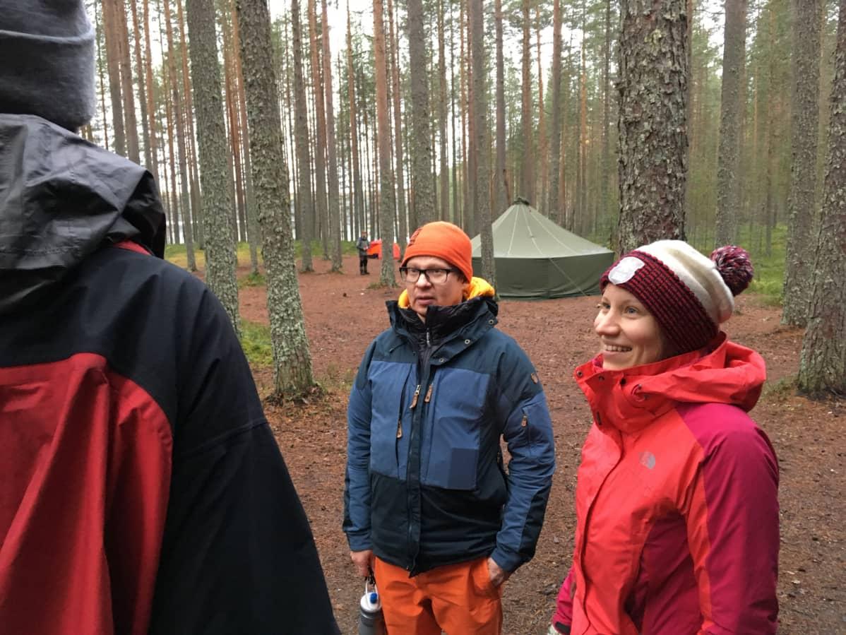 Hannu Pehkonen ja Sari Perälä