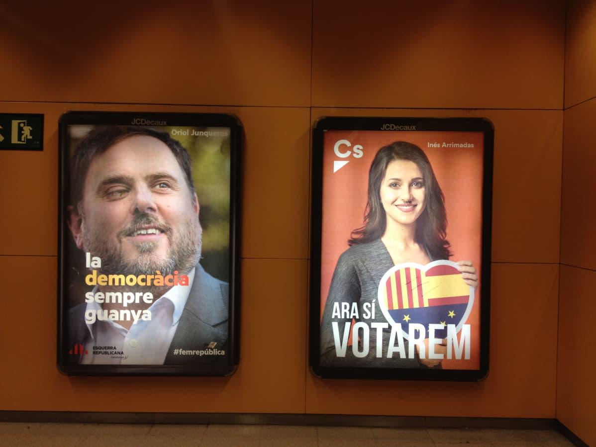 Katalonian vaalien pääehdokkaat