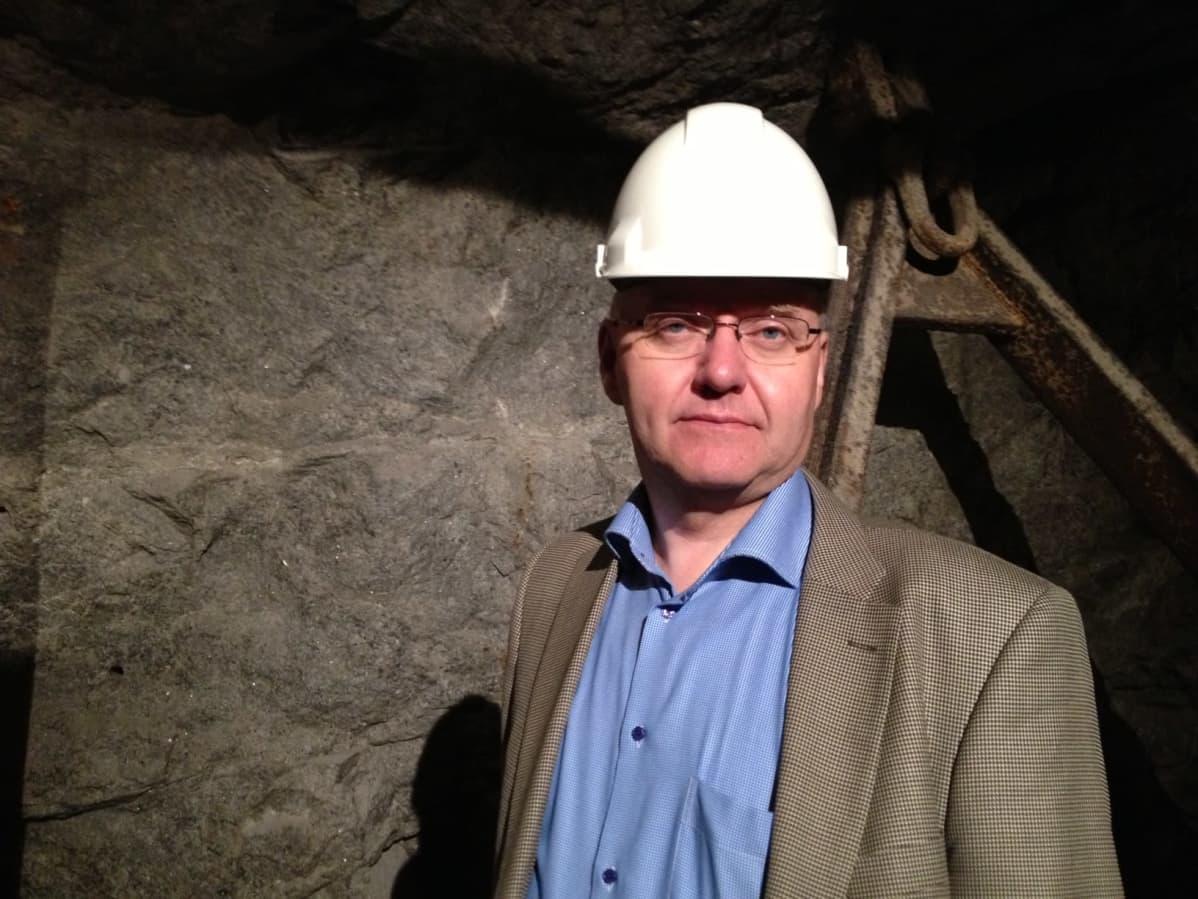 Kaivosteollisuus ry:n toiminnanjohtaja Pekka Suomela