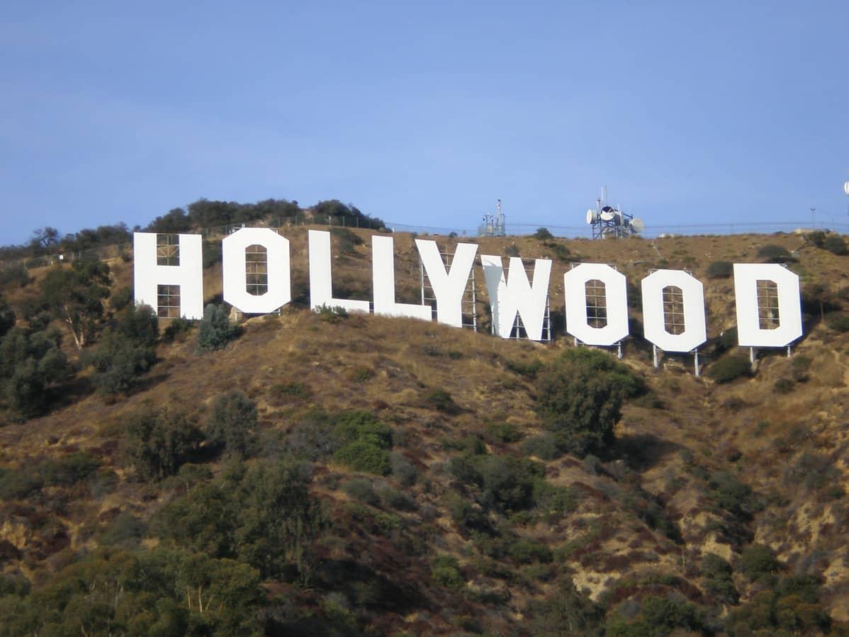 Hollywood-skylten.