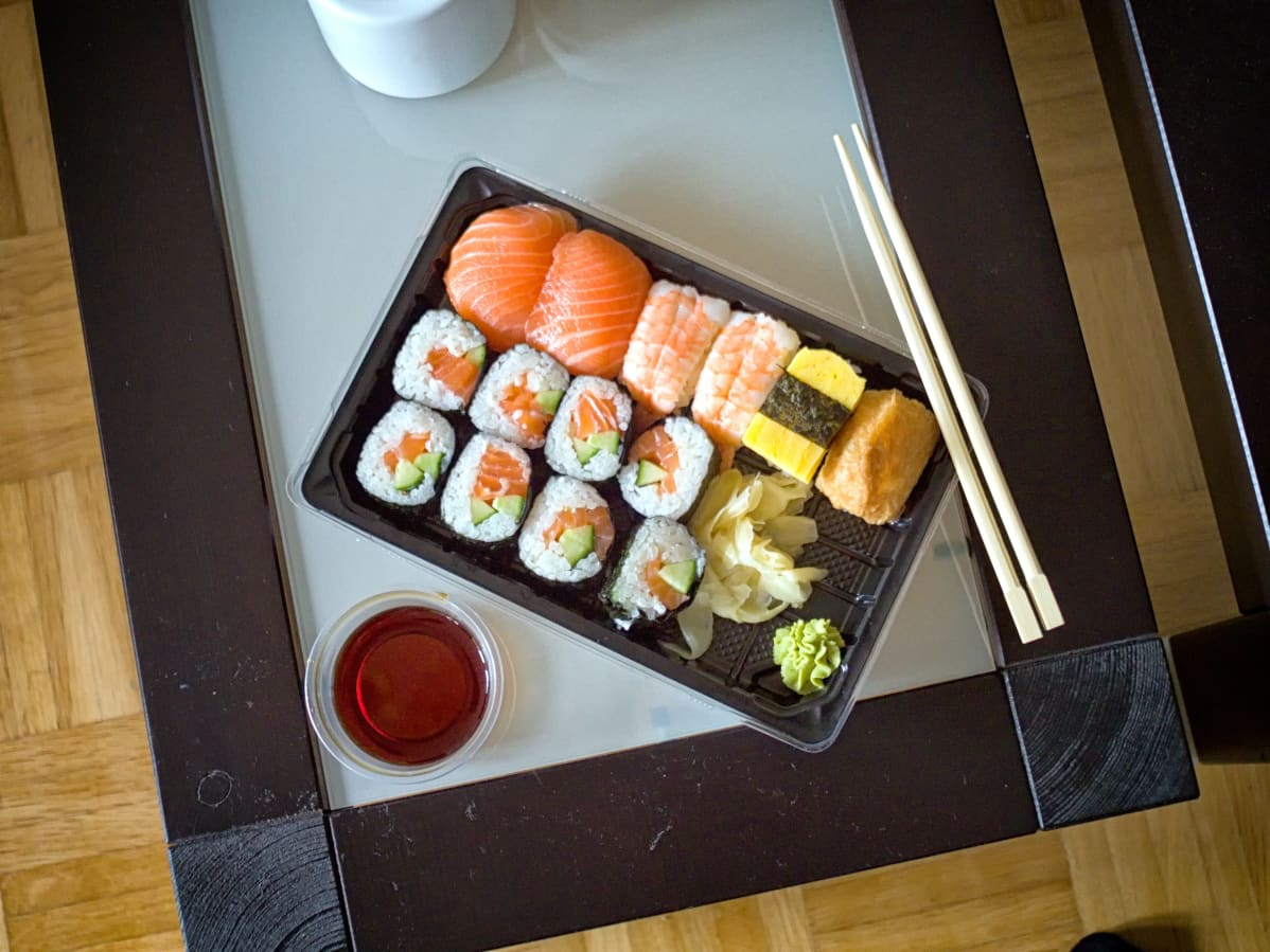 Take-away sushiannos