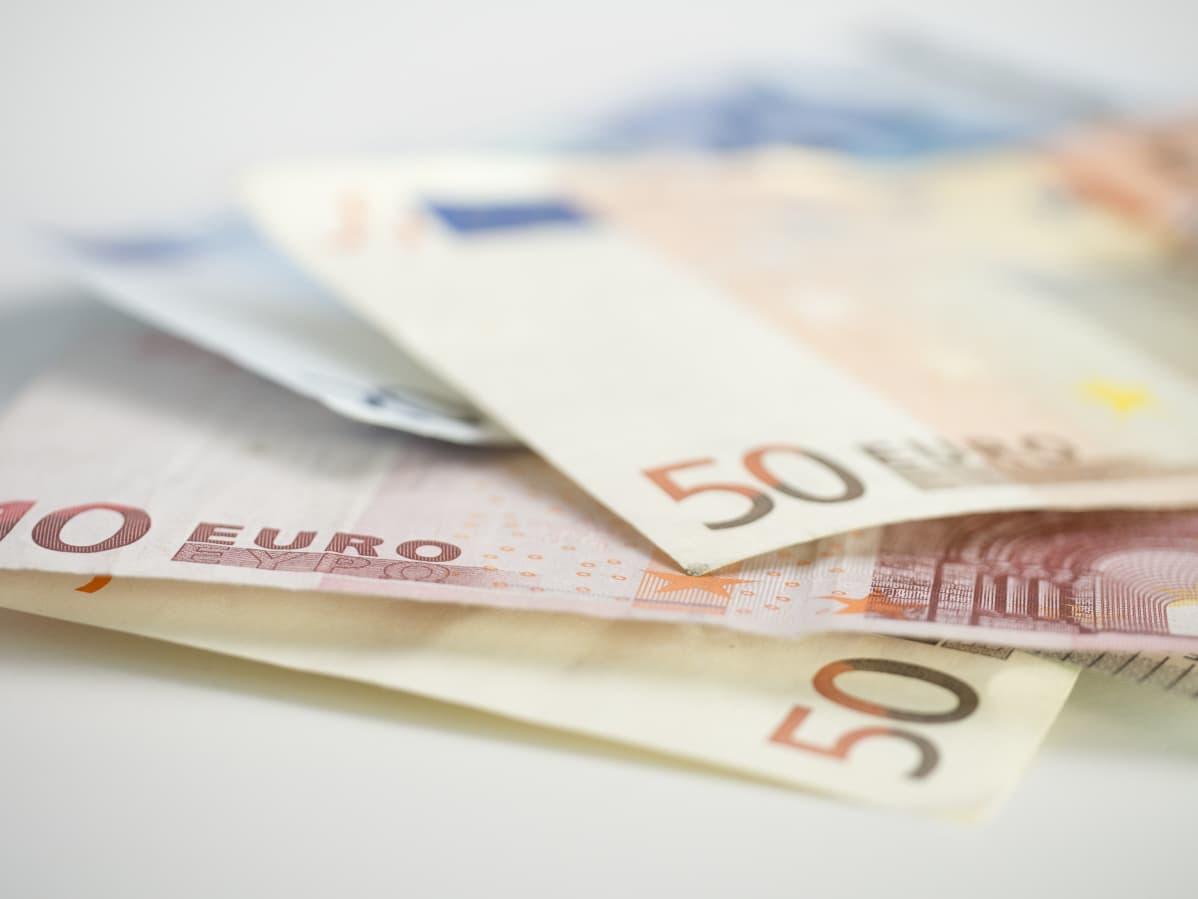 50 euron seteleitä