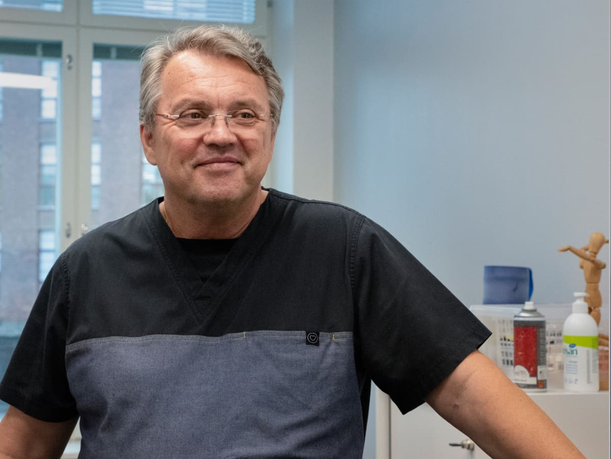 Urheilufysioterapeutti Peter Halén