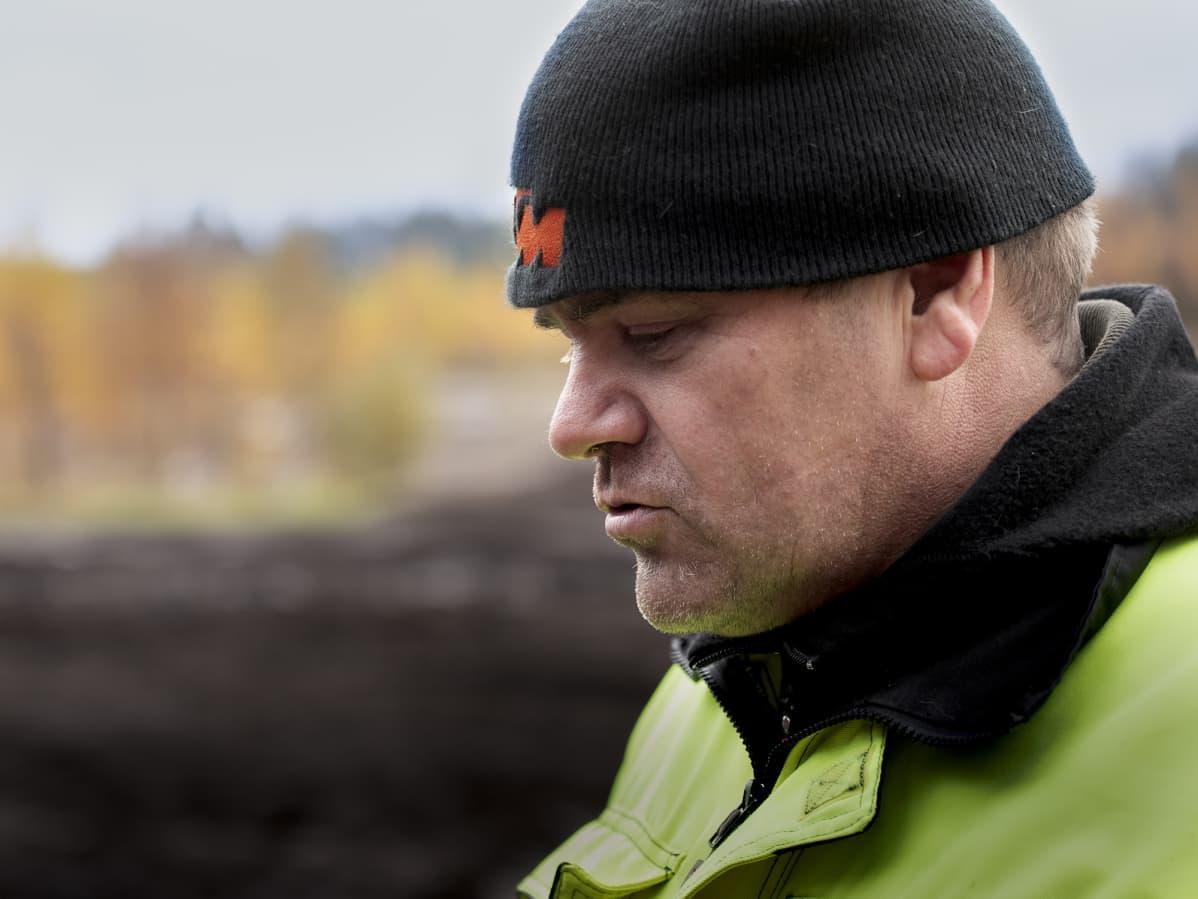 Lähikuva maaseutuyrittäjä Juha Korkeamäestä