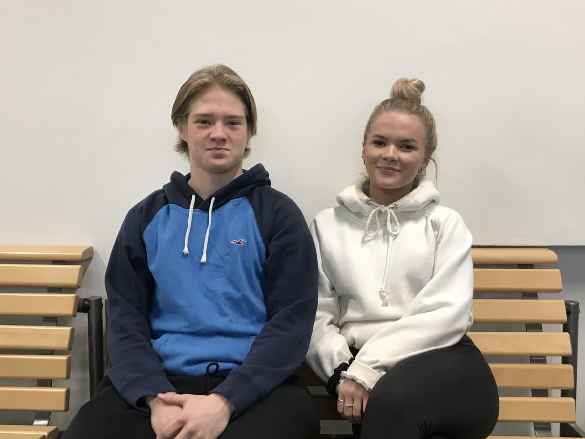 Niklas Halonen ja Riina Hartikainen