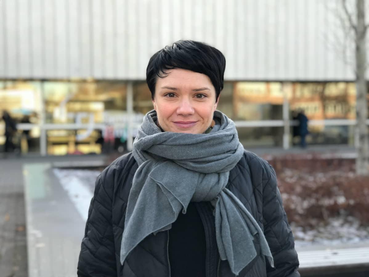 Tutkija Liina-Kaisa tynkkynen, Tampereen ylipisto.