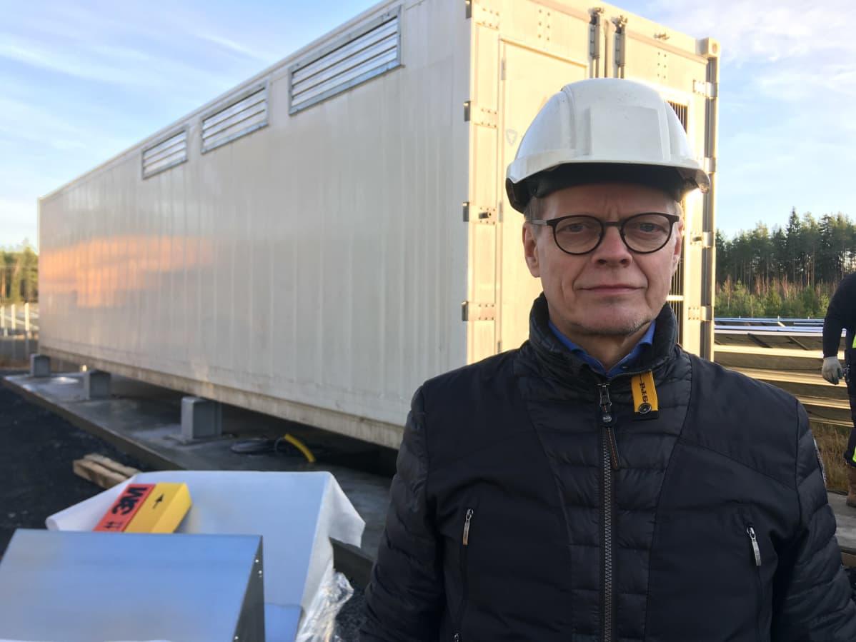 Atria tilaus-toimitusketjun johtaja Tapani Potka