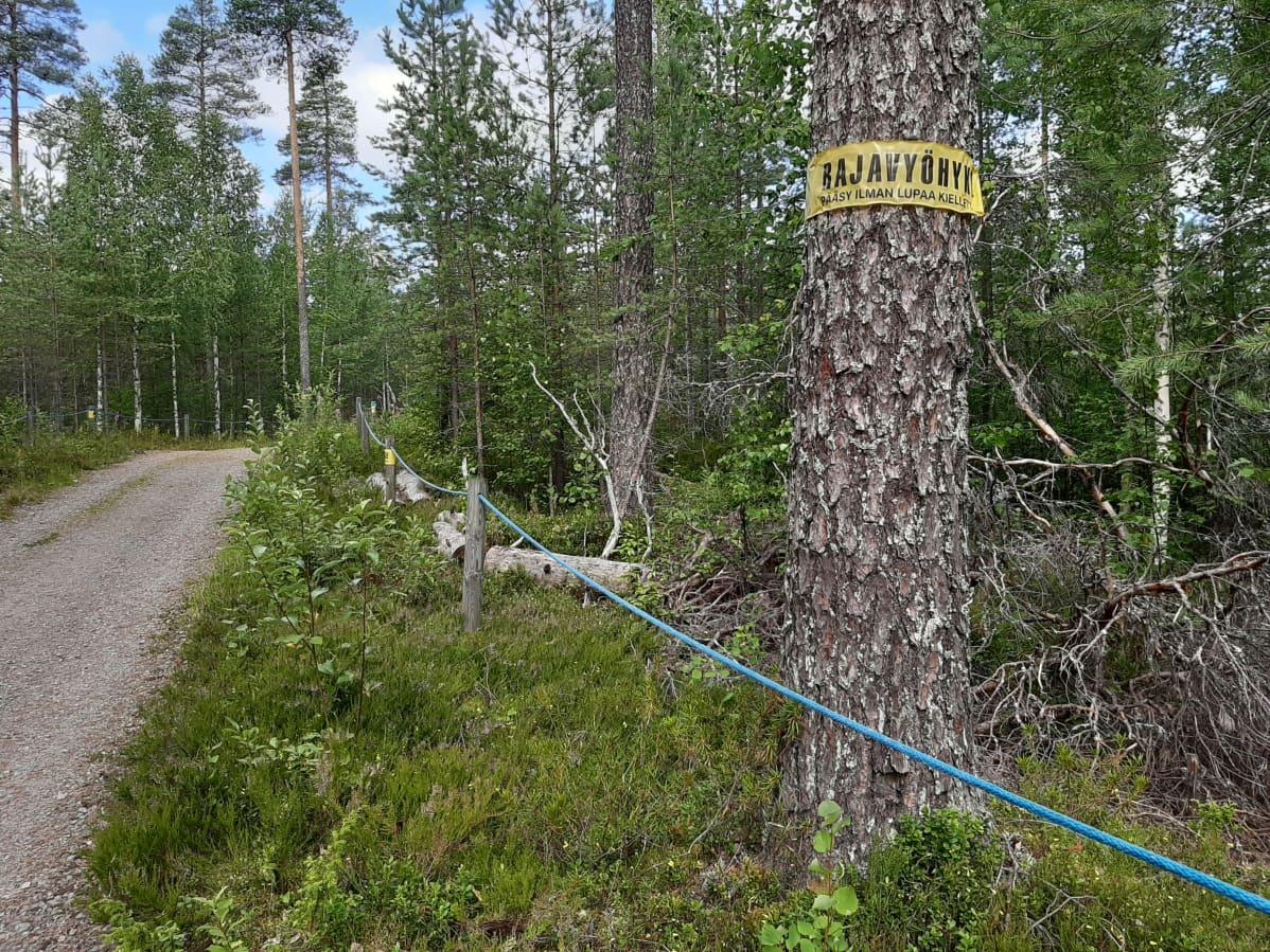 Itäpiste, Suomen ja Venäjän välinen raja.