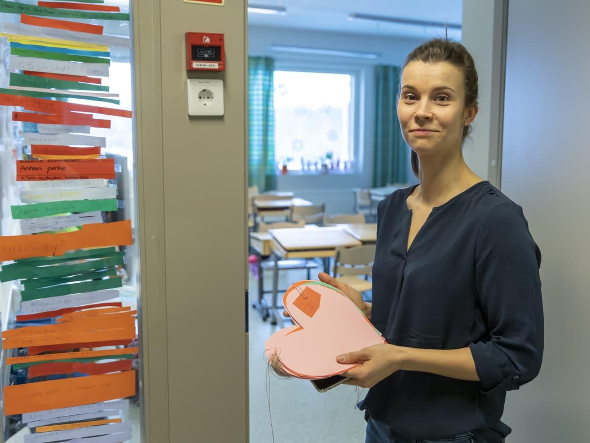Opettaja Tiina Rajamäki