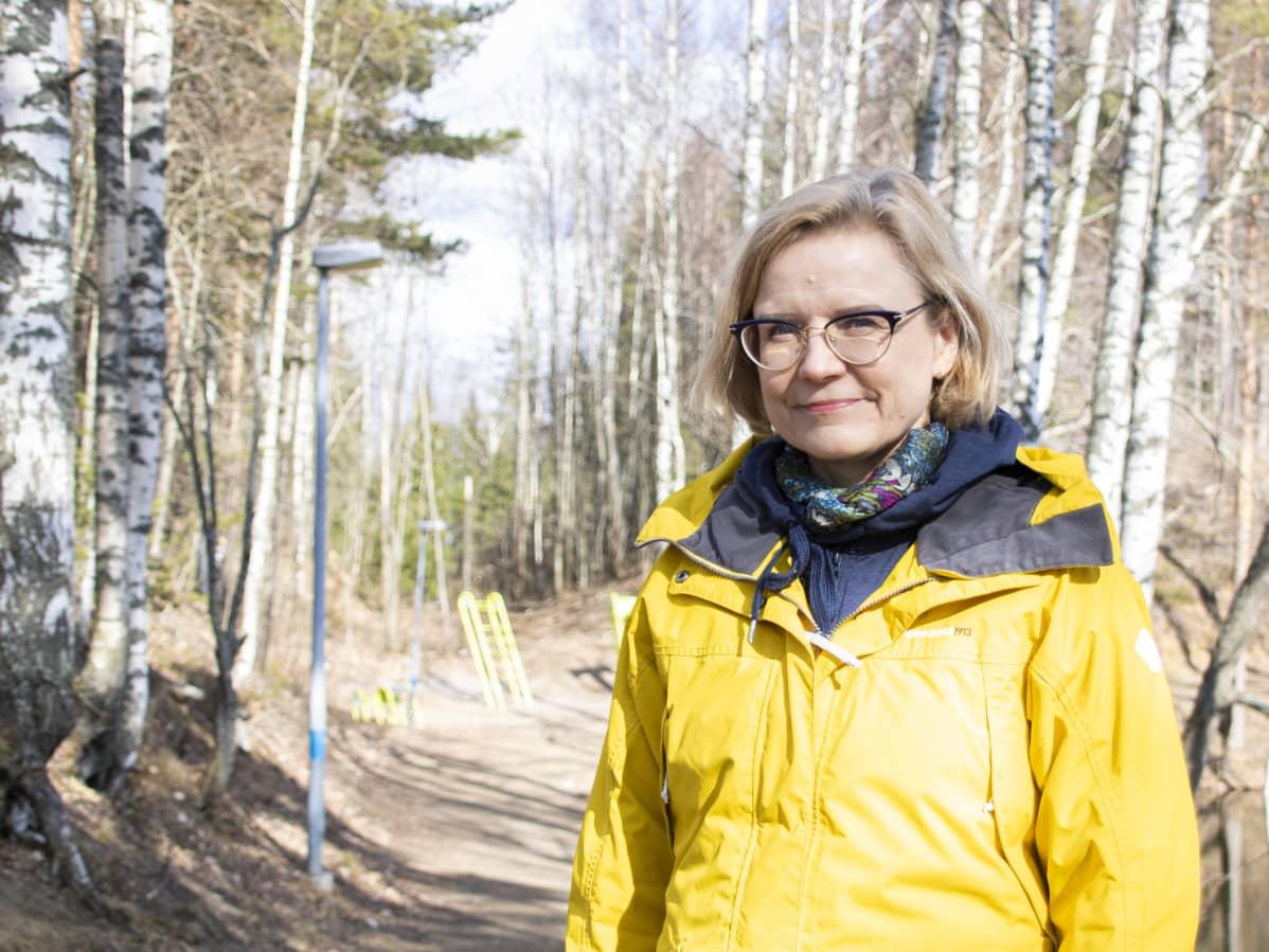 LUT-yliopiston professori Kirsimarja Blomqvist.