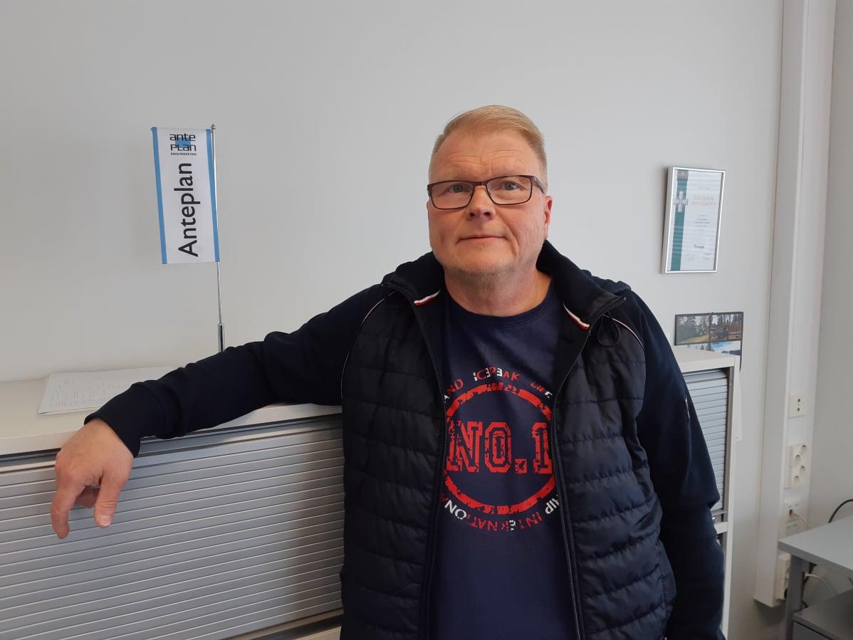 Insinööritoimisto Anteplanin toimitusjohtaja Heikki Siukkola