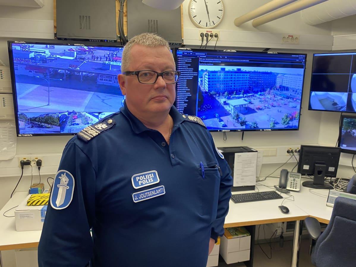 Ylikomisario Juha Joutsenlahti