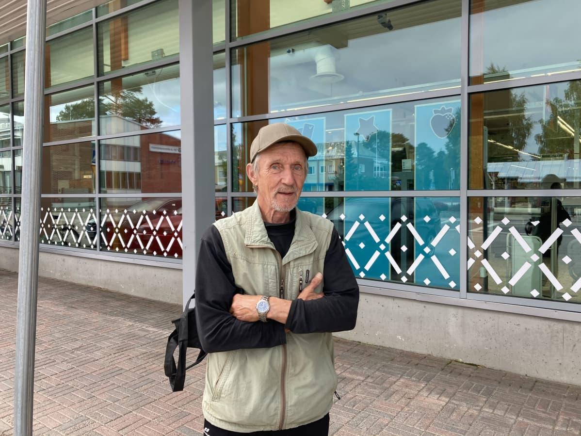 Markku Heikkinen Kuhmossa 31.8.2020.
