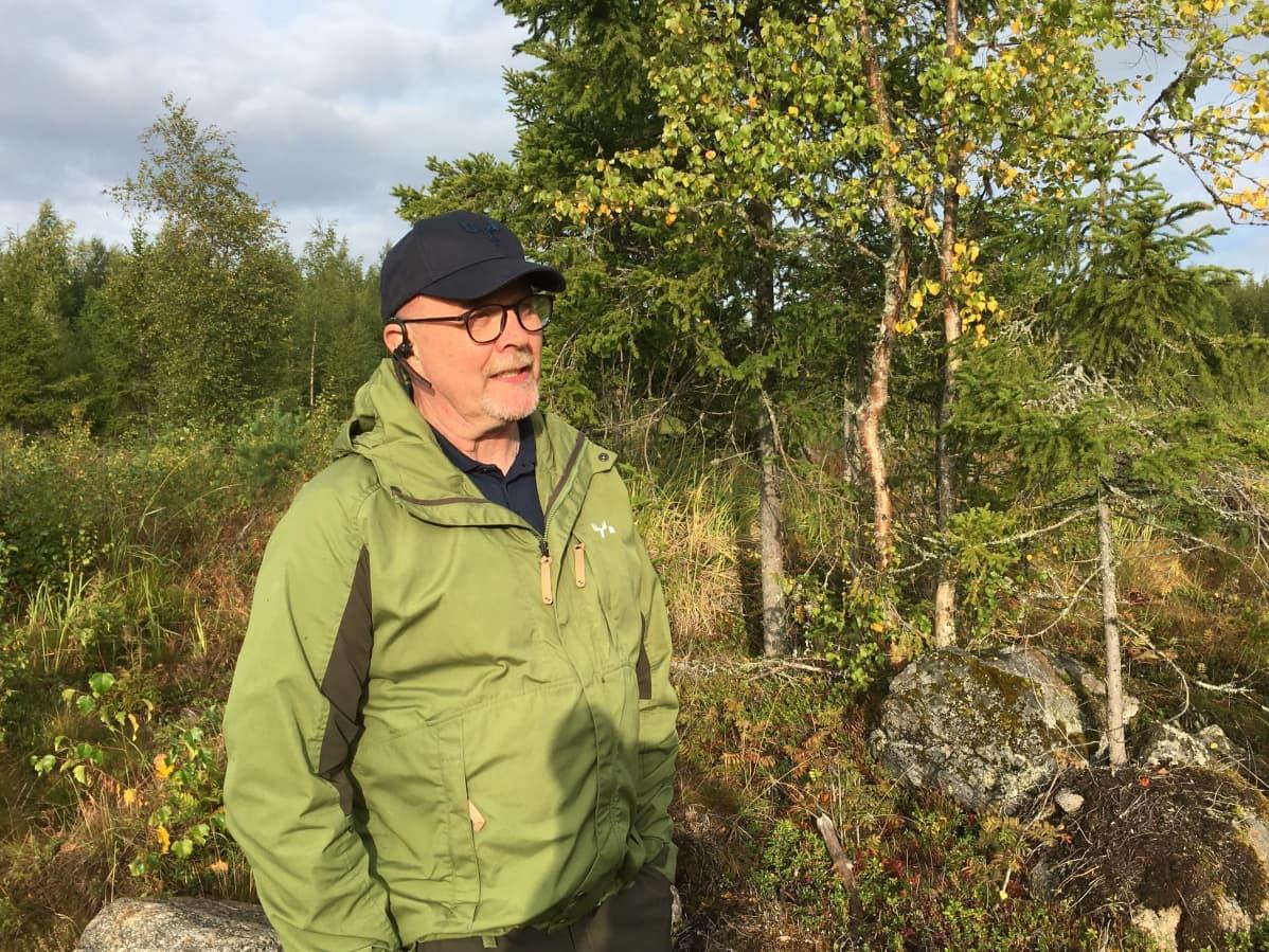 Metsä Groupin metsäasiantuntija Hannu Yli-Rahko