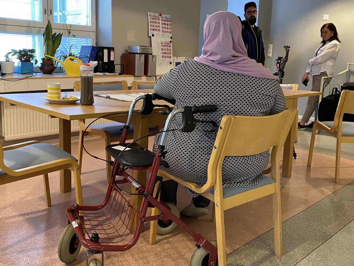 Turvapaikanhakija Eesee Lahden vastaanottokeskuksen erityisen tuen yksikössä
