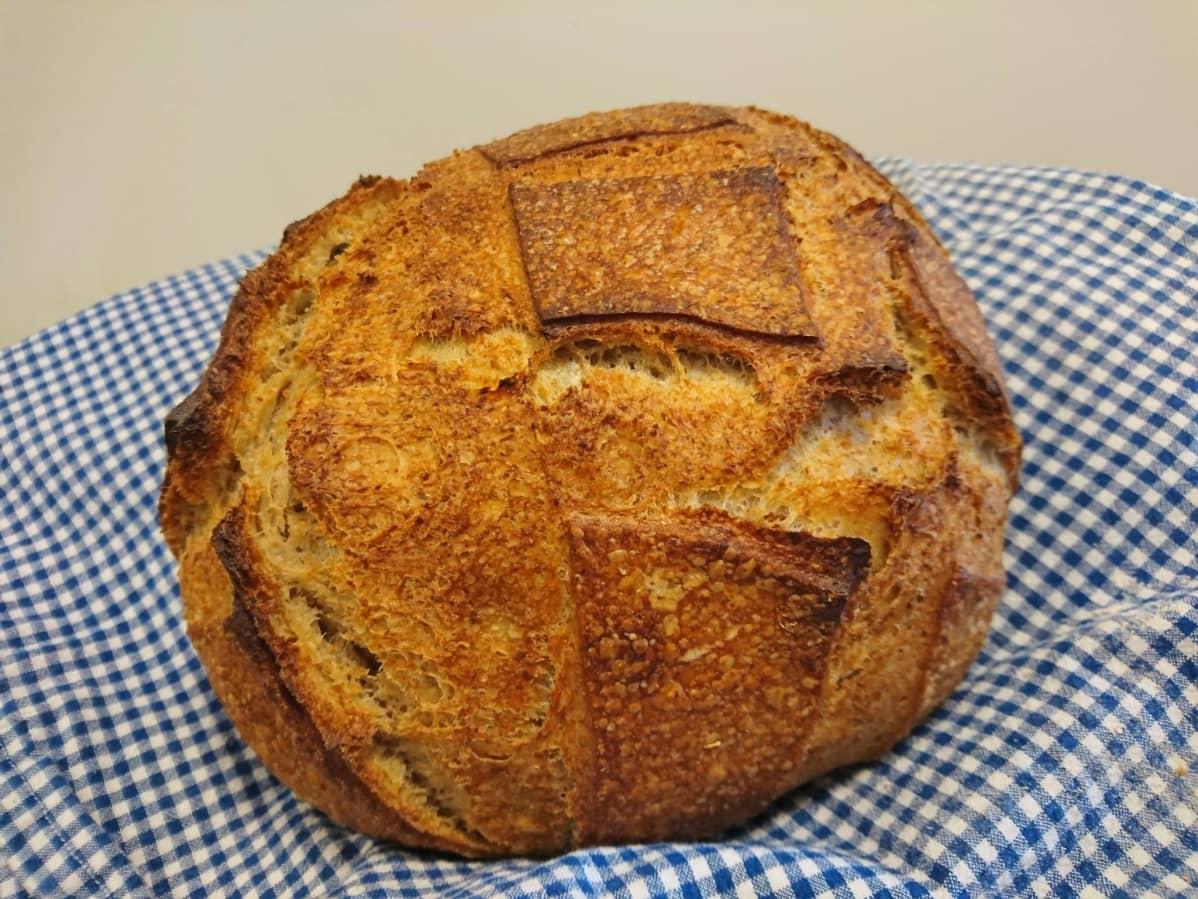 Kirsi Tanskan leipoma leipä, jolla SM-menestys tuli