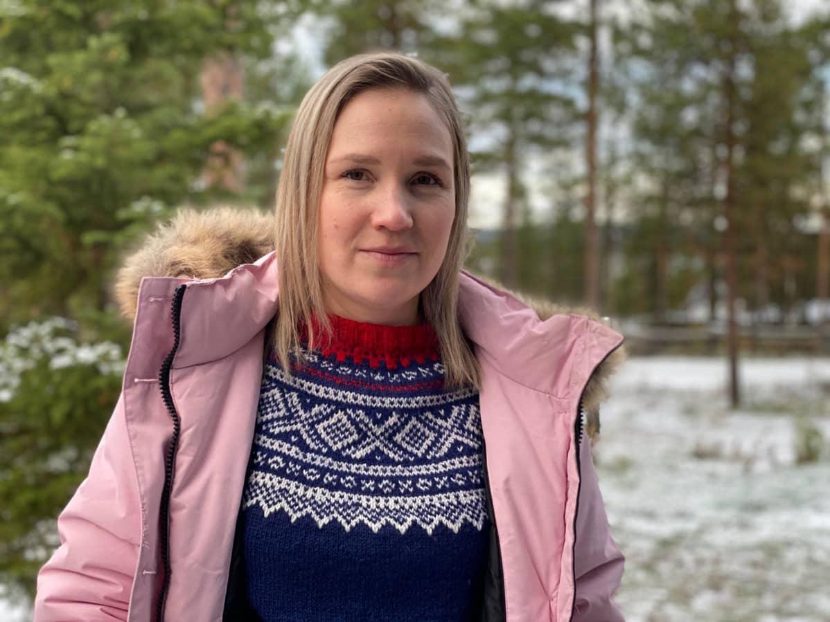 Saamelaiskäräjien kieliturvasihteeri Anne Kirste Aikio.