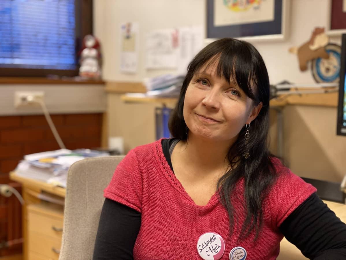 Inarin kunnan viestintä- ja yhteistoimintajohtaja Anne-Marie Kalla.